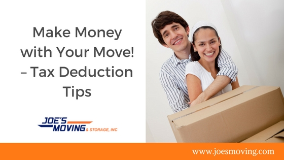 South Florida Moving Tips- how to claim your moving expenses on your taxes.