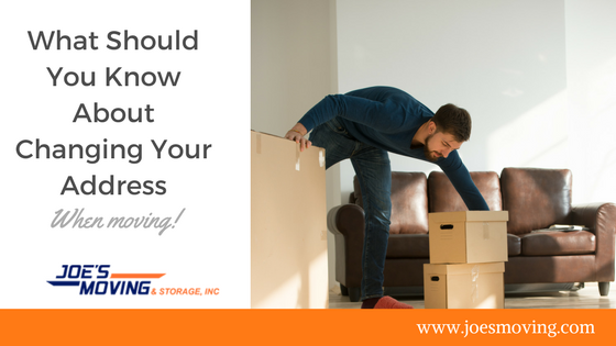 Tips for changing your address when moving