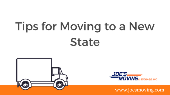 Tips for Moving to a New State