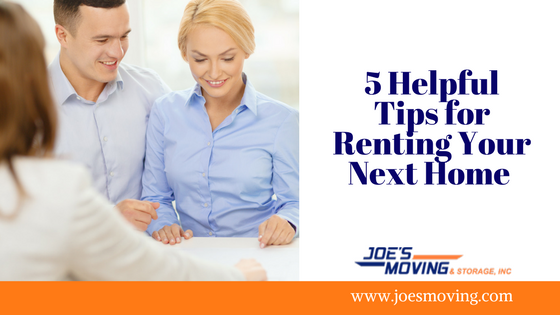 5 Helpful Tips for Renting Your Next Home