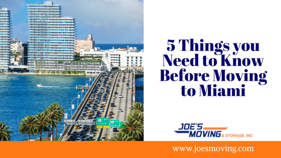 5 Things you Need to Know Before Moving to Miami (1)
